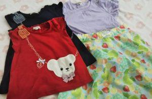 エニィファムの子供服の写真